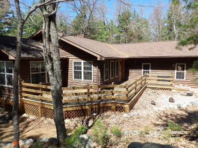 Eagle River Single Family Home For Sale: 2655 Pickerel Point Ln