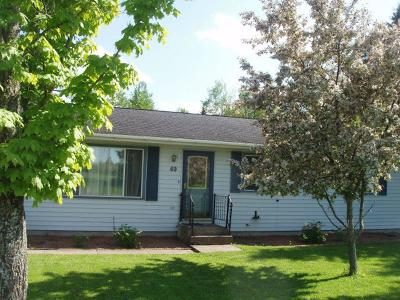 Park Falls Single Family Home For Sale: 69 Heritage Ln