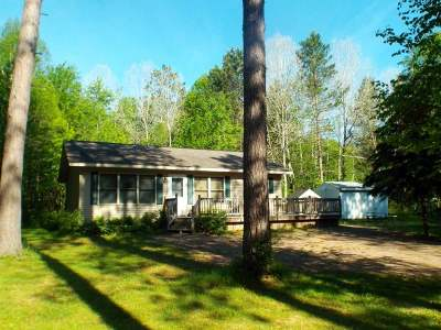 Pearson Single Family Home For Sale: N9717 Cth U