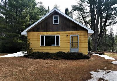 Park Falls Single Family Home For Sale: Off East Rd