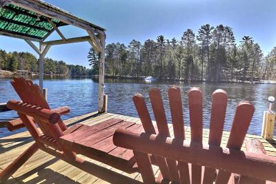Eagle River WI Single Family Home For Sale: $319,000