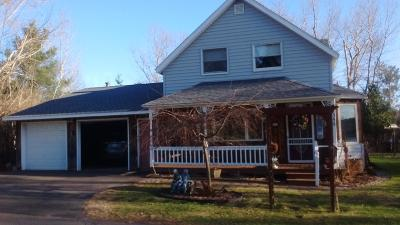 Park Falls Single Family Home Active Under Contract: 355 Pine St