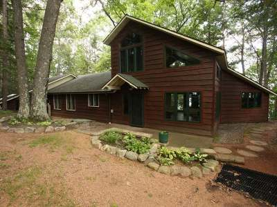 Lincoln County, Price County, Oneida County, Vilas County Single Family Home For Sale: 6956 Lair Dr