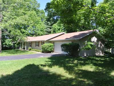 Three Lakes WI Single Family Home For Sale: $169,500