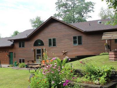 Lac Du Flambeau Single Family Home For Sale: 3121 Hintz Ln