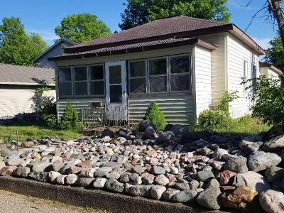 Tomahawk WI Single Family Home For Sale: $48,900