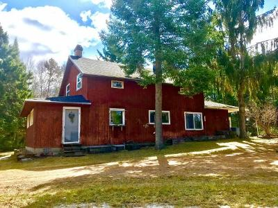 Pelican Lake Single Family Home For Sale: 865 Cth G