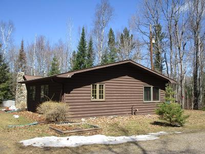 Forest County, Iron Wi County, Langlade County, Lincoln County, Oneida County, Vilas County Single Family Home For Sale: 1816 Hwy 182