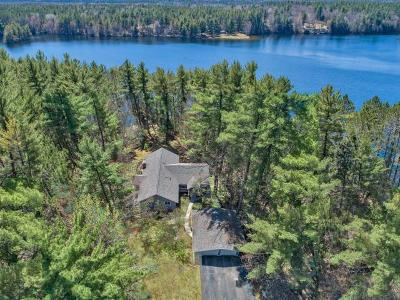 Lincoln County, Price County, Oneida County, Vilas County Single Family Home For Sale: 5297 Lakeview Ln