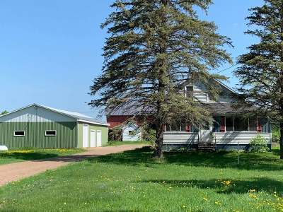 Phillips Single Family Home For Sale: W7082 Dama Rd