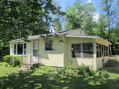 Tomahawk Single Family Home Active Under Contract: N11252 Tomahawk River Rd