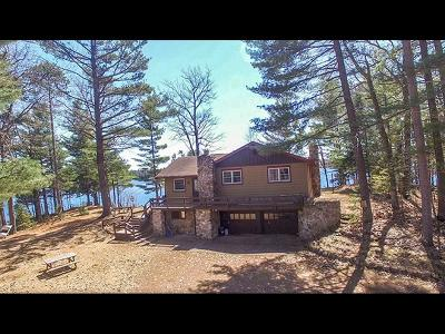 Minocqua Single Family Home Active Under Contract: 8410 Squirrel Lk Rd