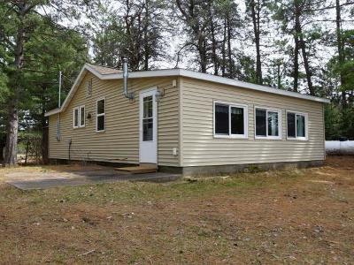 Forest County, Iron Wi County, Langlade County, Lincoln County, Oneida County, Vilas County Single Family Home For Sale: 3815 Mitchell Ln