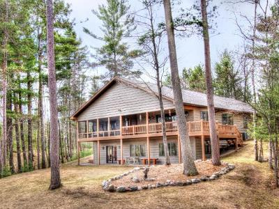 Eagle River Single Family Home For Sale: 2936 Pickerel Lake Rd