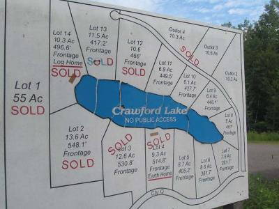 Pickerel Residential Lots & Land For Sale: Lot 11 Crawford Lake Rd