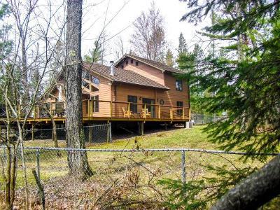 Tomahawk Single Family Home For Sale: N10500 Jones Rd