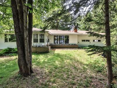 Lincoln County, Price County, Oneida County, Vilas County Single Family Home Active Under Contract: 4672 Shepard Lake Rd
