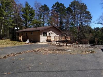 Eagle River Single Family Home For Sale: 3667 Chain O Lakes Rd