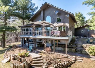 Minocqua Single Family Home Active Under Contract: 7299 Ottertail Ln