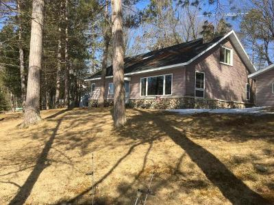 Aniwa, Elcho, Summit Lake, Bryant, Deerbrook, Elton, Lily, Pearson, Phlox, Pickerel, Polar, White Lake, Birnamwood Single Family Home Active Under Contract: W11205 Snag Rd