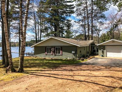Lincoln County, Price County, Oneida County, Vilas County Single Family Home Active Under Contract: N12015 Deer Lake Rd
