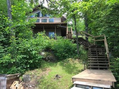 Forest County, Iron Wi County, Langlade County, Lincoln County, Oneida County, Vilas County Single Family Home For Sale: 9149w Weber Lake Rd