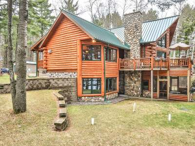Tomahawk WI Single Family Home For Sale: $500,000