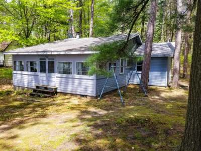 Tomahawk WI Single Family Home For Sale: $145,000