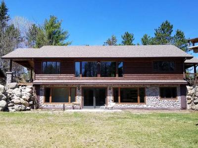 Lake Tomahawk Single Family Home For Sale: 5764 Fox Rd