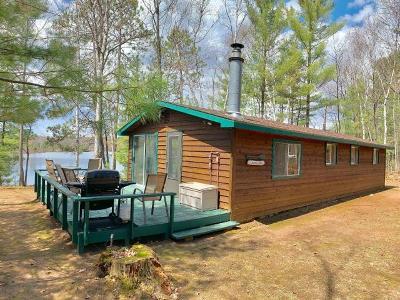 Lac Du Flambeau Single Family Home For Sale: 3116 Kiboniki Point Ln