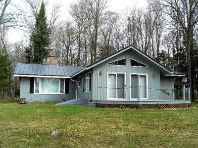 Park Falls Single Family Home For Sale: 3951 Peninsula Rd