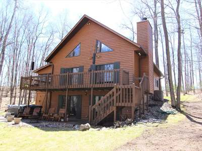 Minocqua Single Family Home For Sale: 9228 Country Club Rd