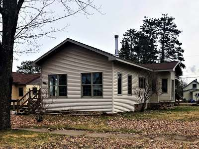 Park Falls Single Family Home For Sale: 421 6th Ave S