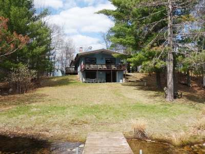 Minocqua Single Family Home For Sale: 9853 Bolger Lake Rd