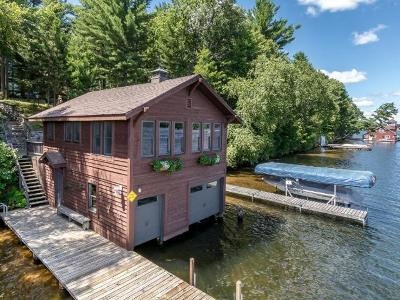 Minocqua Single Family Home For Sale: 9504 Country Club Rd