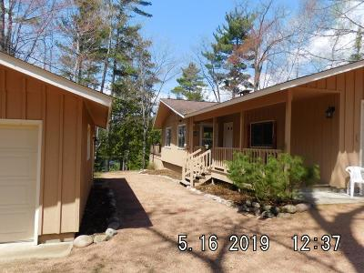 Minocqua Single Family Home For Sale: 9120 Point Dr
