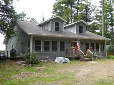 Langlade County, Forest County, Oneida County Single Family Home For Sale: 8457 Squaw Lake Rd E