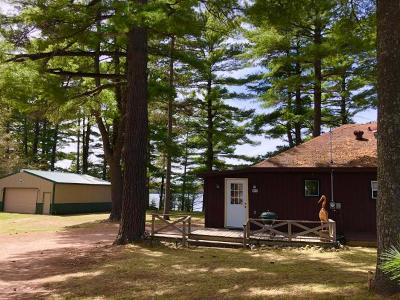 Forest County, Iron Wi County, Langlade County, Lincoln County, Oneida County, Vilas County Single Family Home For Sale: 601 Wild Rice Ave