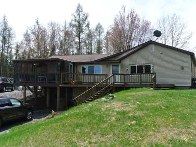 Three Lakes WI Single Family Home Active Under Contract: $175,000
