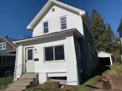 Antigo Single Family Home For Sale: 506 Lincoln St