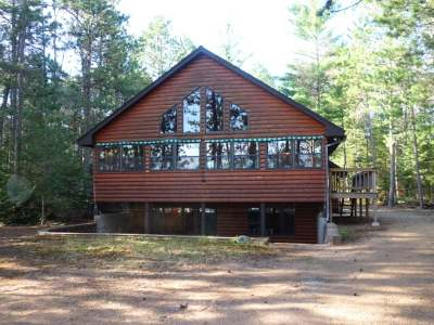 Minocqua Single Family Home For Sale: 7546 Pine Lake Rd