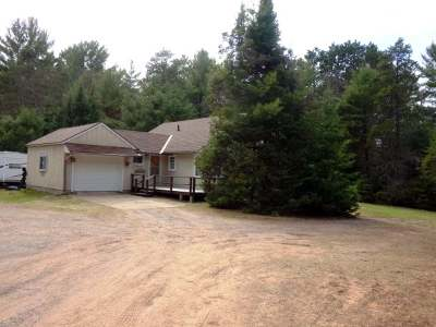 Minocqua Single Family Home Active Under Contract: 8781 Hwy 47