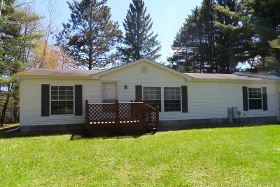 Forest County, Iron Wi County, Langlade County, Lincoln County, Oneida County, Vilas County Single Family Home For Sale: W207 Hildebrand Lake Rd