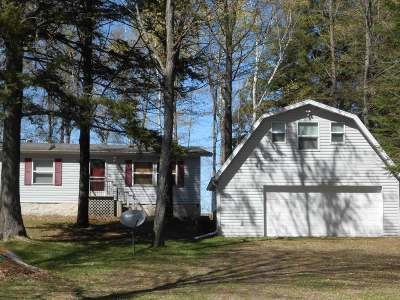 Langlade County, Forest County, Oneida County Single Family Home For Sale: W5809 West Point Rd