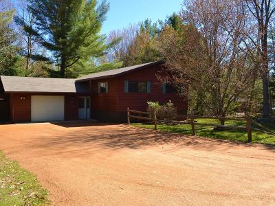 Langlade County, Forest County, Oneida County Single Family Home For Sale: 3186 Wildflower Bay Rd