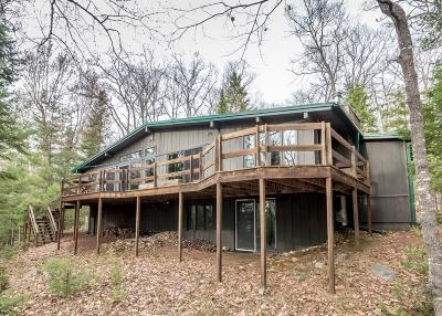 Langlade County, Forest County, Oneida County Single Family Home For Sale: 6559 Kaubashine Rd E