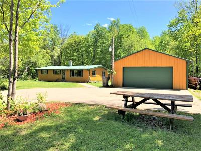 Price County Single Family Home For Sale: W6151 Cross Cut Rd