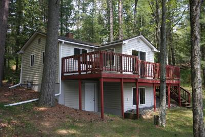 Langlade County, Forest County, Oneida County Single Family Home For Sale: 4489 Cth P