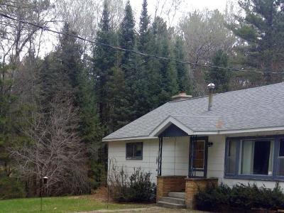 Tomahawk Single Family Home For Sale: 11904 Cth L