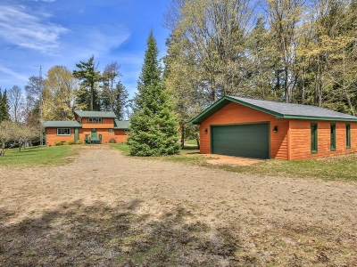 Langlade County, Forest County, Oneida County Single Family Home Active Under Contract: 1226 Crystal Pointe Ct